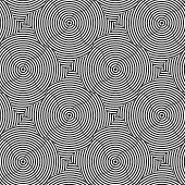 foto of striping  - Geometric background with black and white stripes - JPG