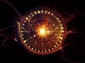 stock photo of witchcraft  - Orbits of Destiny series - JPG