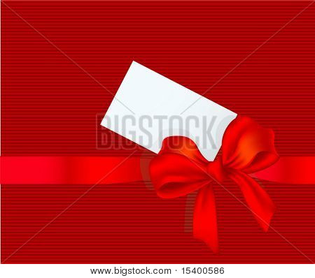 Gift decoration. Vector.