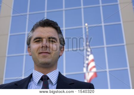Businessman Outside 10