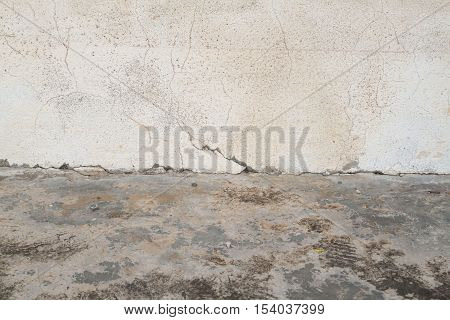 background textured surface cement paint off the wall seam floors