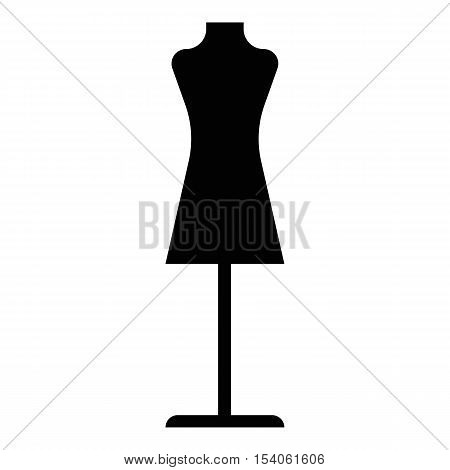 Mannequin icon. Simple illustration of mannequin vector icon for web