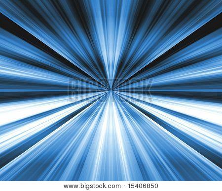 Blue Gradient Burst