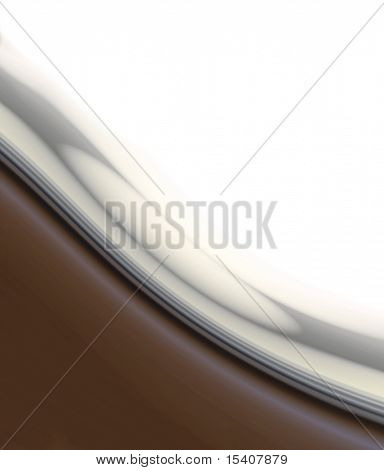 Smooth Chocolate Wave