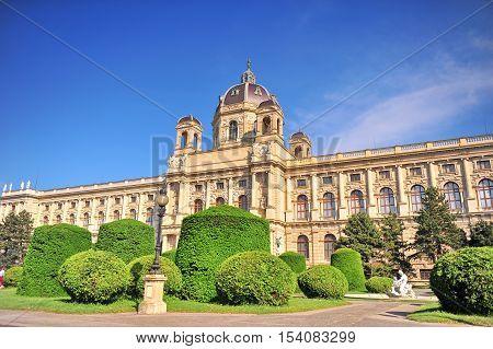 Naturhistorisches Museum (Natural History Museum) in Vienna Austria