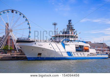 Finnish Offshore Patrol Ship Turva