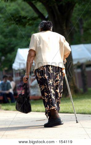 Old Lady Walking