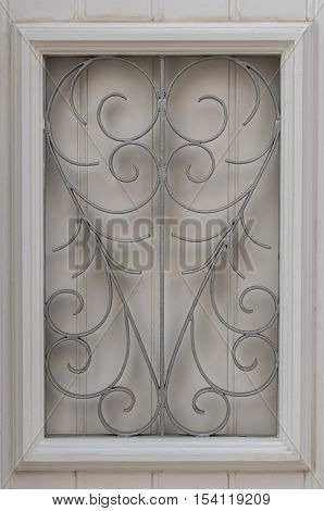 Window Wrought Iron Grille