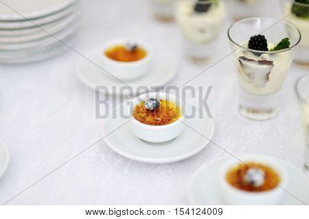 French Vanilla Cream Dessert