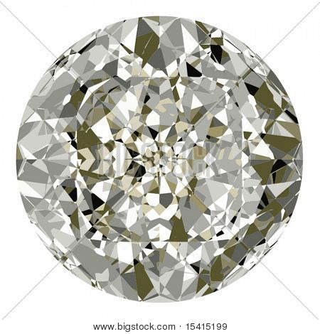 Vector Beautiful Diamond