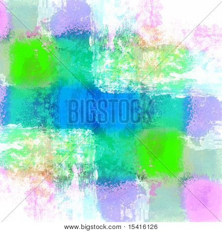 XL Colorful Pastels Art Grunge