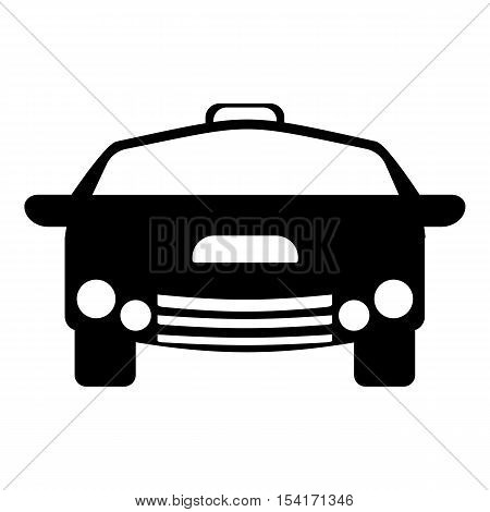 Race car icon. Simple illustration of race car vector icon for web