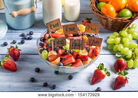 Ingredients For Fruit Salad With No Preservatives