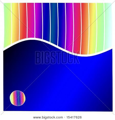 Vector Rainbow Template