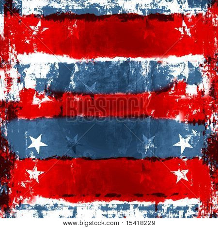 Patriotic Red, White, And Blue Background, Also Vector Is Available