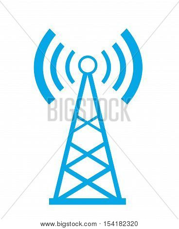 Transmitter icon illustration art on white background