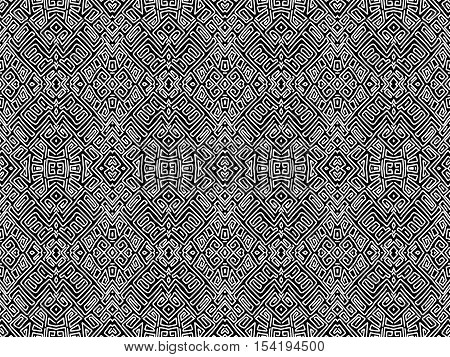 Background Aztec Abstract Maya Shapes Tribal Black White 3