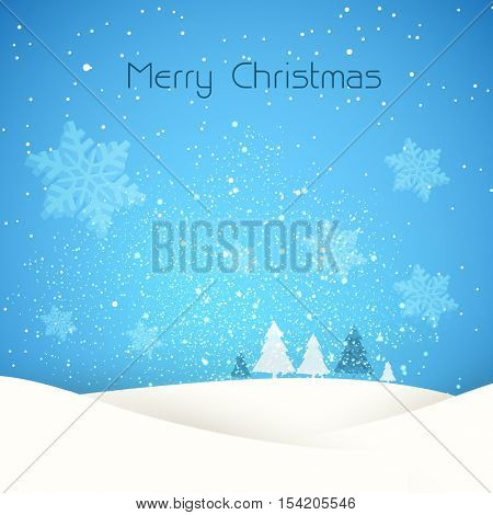 Christmas retro greeting card and background