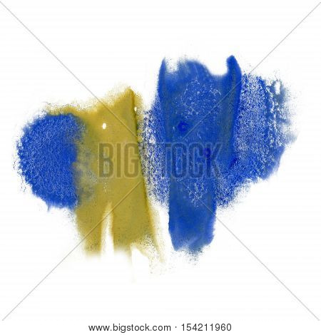paint splash color ink watercolor isolate lime stroke splatter watercolour yellow blue aquarel brush art