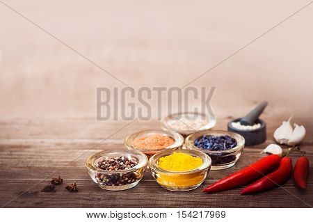 Spices For Cooking Meat: Turmeric, Chili Pepper, Barberry
