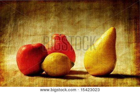 Photo Art Fruit Grunge