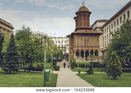 Cretulescu Church, Bucharest, Romania