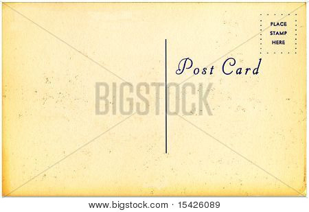 Vintage Postcard From Early 1900s