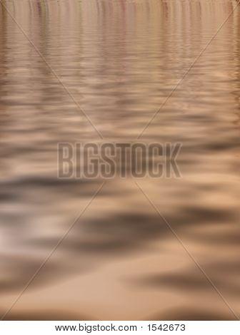 Brown Water Ripple