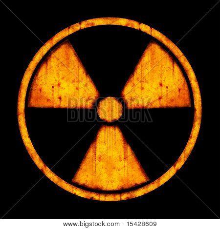 Radiation - Round Sign
