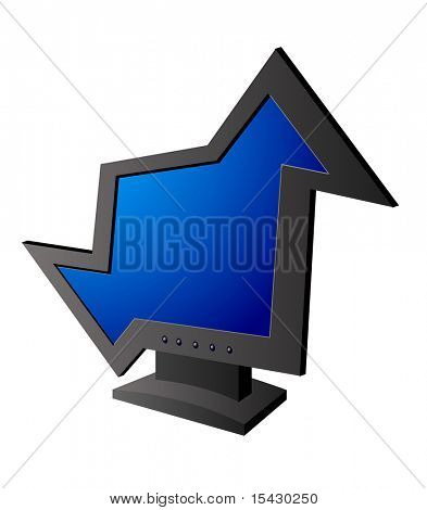 Versão JPEG. Engraçado exposição isolada como um símbolo ou ícone