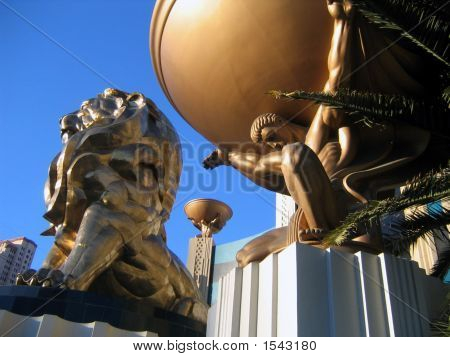 Mgm Grand Hotel Entrance, Las Vegas