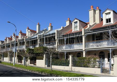 Domain Terraces George Street in Auckland New Zealand