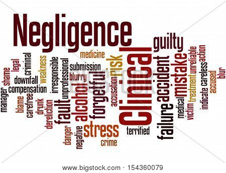 Clinical Negligence, Word Cloud Concept 7