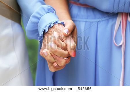 Generations Holding Hands