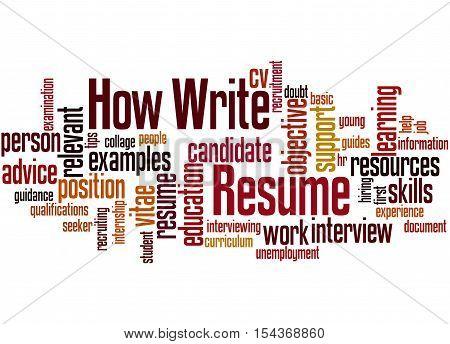 Resume filter words