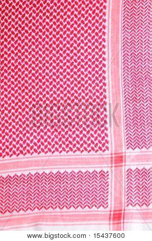 Saudy background scarf