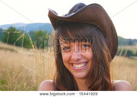 Happy Cowgirl