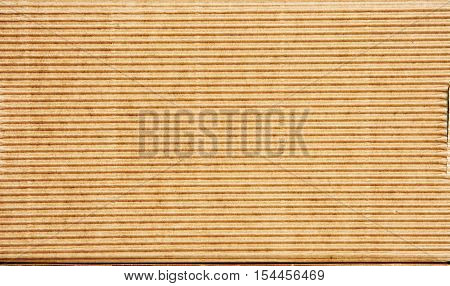 Corrugated cardboard background. Abstract theme. Material theme.