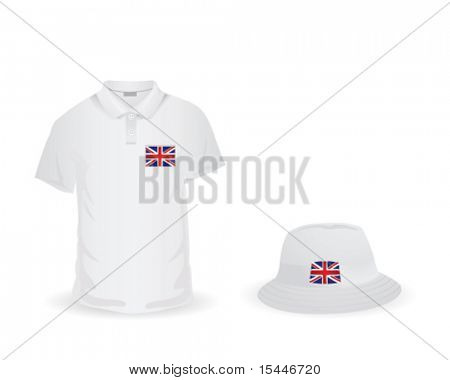 T shirt with UK symbol