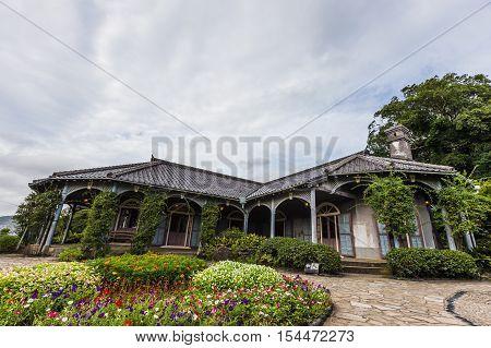NAGASAKI,JAPAN - AUGUST, 21 : Glover Garden is located on the Minamiyamate hillside overlooking Nagasaki harbor on August 21, 2015