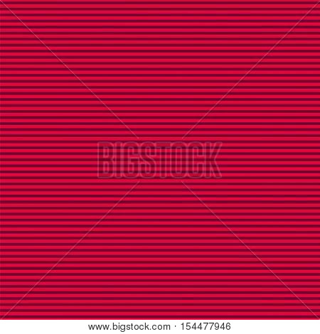 Pink horizontall stripes pattern. Seamless vector illustration.