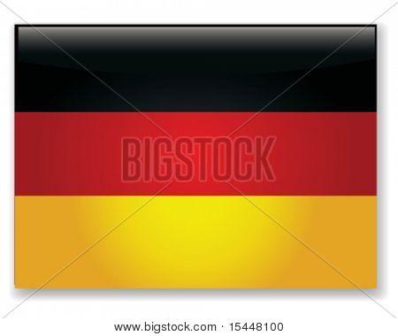 german flag. Vector