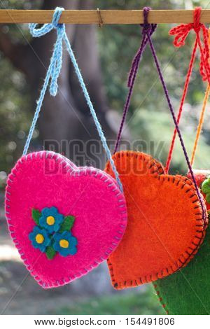 Heart Shaped Hand Bags For Women