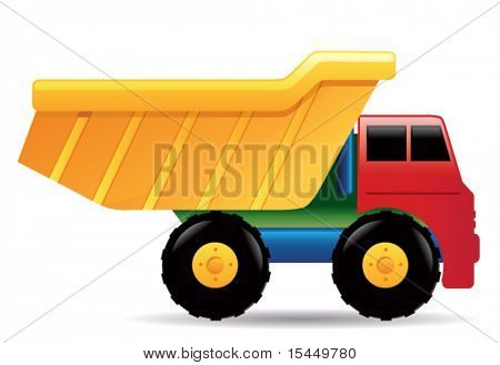 Toy truck.