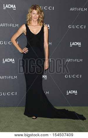 LOS ANGELES - OCT 29:  Laura Dern at the 2016 LACMA Art + Film Gala at Los Angeels Country Museum of Art on October 29, 2016 in Los Angeles, CA