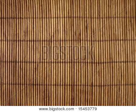 Background - volumetric Japanese reed mat