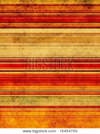 Grunge background with colored strips