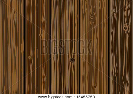 Vector texture  - old wooden boards