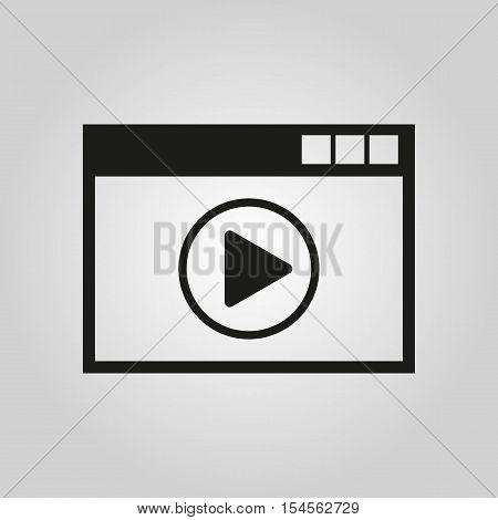 Online player icon. online player vector design. online player symbol. online player web. online player graphic.