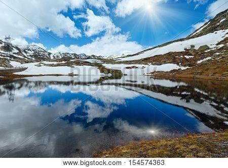 Alps Mountain Lake